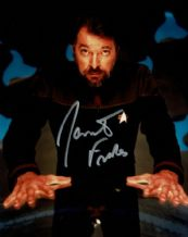 Jonathan Frakes Autograph Signed Photo - Star Trek: The Next Generation